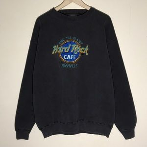Vintage 1990s Hard Rock Nashville Sweatshirt